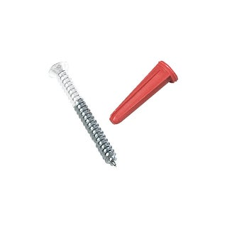 Knape & Vogt 80-88DP WH White Shelf Standard Screws & Anchors
