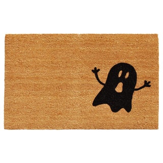 Natural/Black Ghost Doormat (2' x 4')