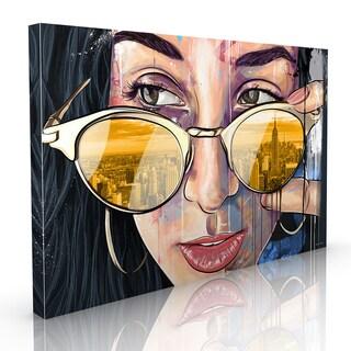 Maxwell Dickson 'NY NY' Modern Canvas Wall Art