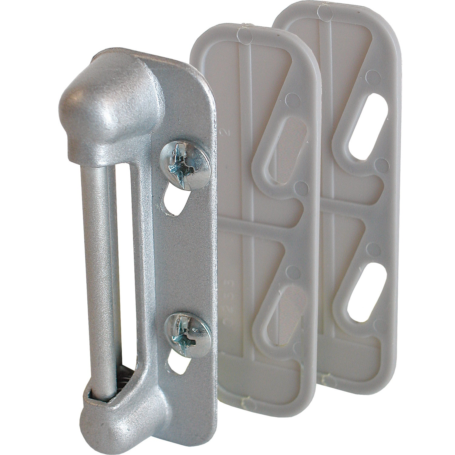 Natural Finish 20 pcs Flare in Style Retractable Captive Panel Fasteners #8-32 X 0.44 Slotted Drive THK=0.250
