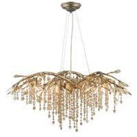 Golden Lighting Steel 6-light Autumn Twilight Chandelier