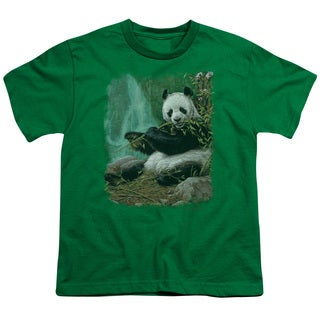 Wildlife/Citizen Of Heaven On Earth Short Sleeve Youth 18/1 in Kelly Green
