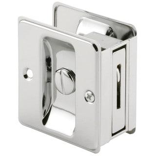 Prime Line N6773 Chrome Pocket Door Privacy Lock