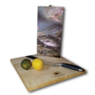 WGI Gallery Multicolor Wood Bass-themed Cutting Board (2 options available)