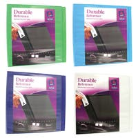 """Avery 17048 3"""" Assorted Colors Durable Reference View Binder"""