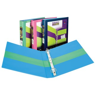 """Avery 17291 1.5"""" 2 Tone Assorted Colors Binders"""