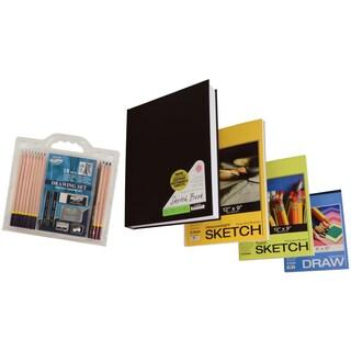 C2F PRO-0205-PVP Value Pack Paper & Pencil Set 18 Piece