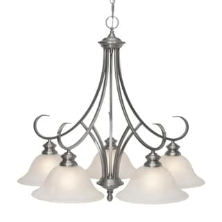 Golden Lighting Lancaster Five-Light Nook Chandelier