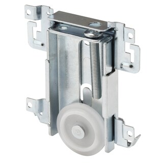 "Prime Line N6790 1-7/16"" Flat Plastic Mirror Door Roller Assembly"