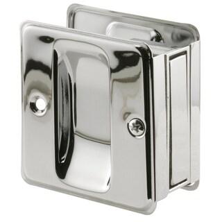 """Prime Line N7085 1-3/8"""" Polished Chrome Finish Pocket Door Pull"""