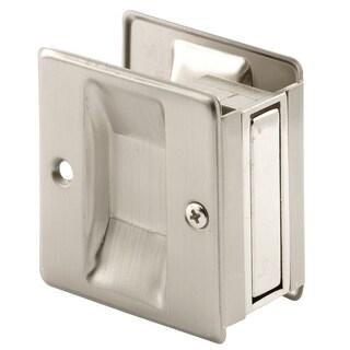 """Prime Line N7238 1-3/8"""" Satin Nickel Pocket Door Handle & Pull"""