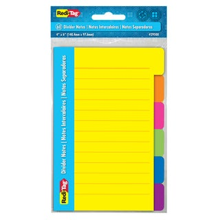 "Redi Tag 29500 4"" X 6"" Divider Notes"