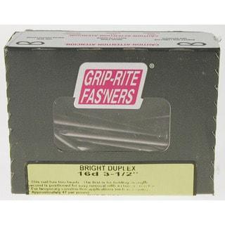 """Grip Rite 16DUP1 1 Lb 3"""" Bright Double-head Shank Duplex Nail"""