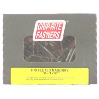 Grip Rite 212TFMAS1 THS Fluted Shank Masonry Nail