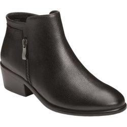 Women's Aerosoles Mythology Bootie Black Leather