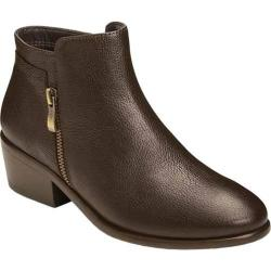 Women's Aerosoles Mythology Bootie Dark Brown Leather