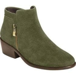 Women's Aerosoles Mythology Bootie Dark Green Suede