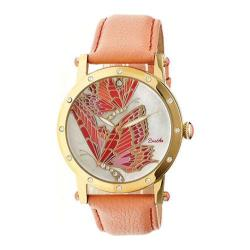 Women's Bertha Isabella BR4303 Coral Leather/Multicolored