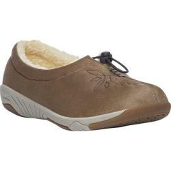 Women's Propet Clara Slip-On Camel Velour