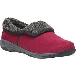 Women's Propet Rosa Slip-On Red Velour