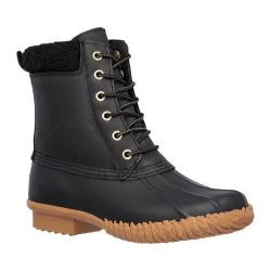 Women's Skechers Duck Boot Black