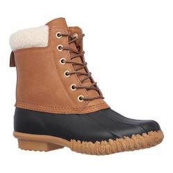Women's Skechers Duck Boot Black/Tan