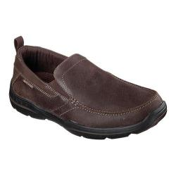 Men's Skechers Relaxed Fit Harper Forde Loafer Dark Brown