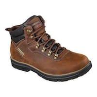 Men's Skechers Relaxed Fit Segment Ander Boot Dark Brown