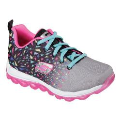 Girls' Skechers Skech-Air Blastabounce Sneaker Black/Multi