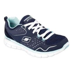 Women's Skechers Synergy Training Shoe Modern Movement/Navy/Light Blue