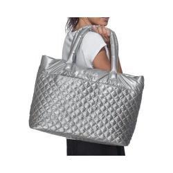 Women's Fila Collezione Quilted Bag Silver/Silver Metallic