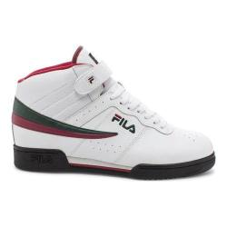 Men's Fila F13 White/Sycamore/Biking Red