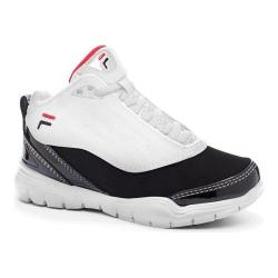Children's Fila Flexnet White/Black/Fila Red