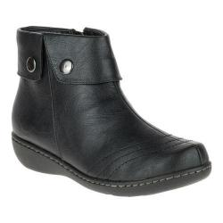 Women's Soft Style Jerlynn Ankle Boot Black Leather