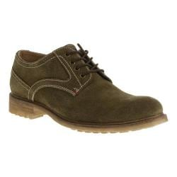 Men's Hush Puppies Rohan Rigby Oxford Olive Suede