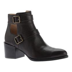 Women's Nine West Evalee Ankle Boot Dark Brown Leather