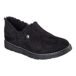 Women's Skechers BOBS Alpine Black Diamond Slipper Black