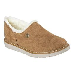 Women's Skechers BOBS Alpine Black Diamond Slipper Chestnut