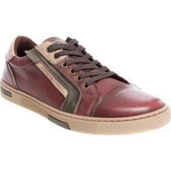 Men's Steve Madden Adison Sneaker Burgundy Leather