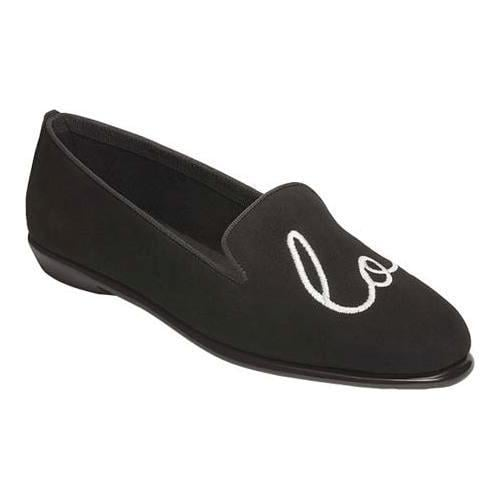 Women's Aerosoles Betunia Black Suede/Fabric