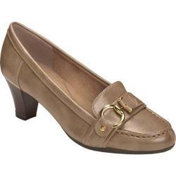Women's Aerosoles Seashore Heel Mushroom Faux Leather