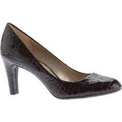 Women's Bandolino Lantana Brown Synthetic Smooth Croco Pu