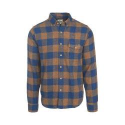 Men's Woolrich Twisted Rich Flannel Button Down Shirt Camel