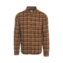 Men's Woolrich Twisted Rich Flannel Button Down Shirt Chicory