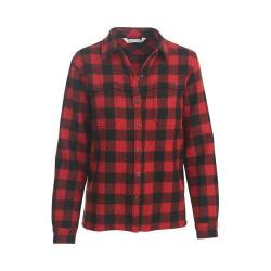 Women's Woolrich Wool Buffalo Stag Shirt Jacket Red/Black