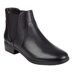 Women's Easy Spirit Nalli Bootie Black/Black Leather