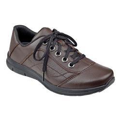 Women's Easy Spirit Selesta Sneaker Brown Leather
