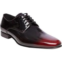 Men's Steve Madden Neves Ombre Oxford Black/Red Leather