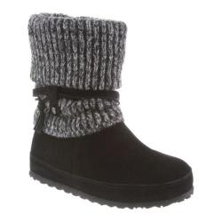 Women's Bearpaw Cosima Pull On Boot Black II Cow Suede