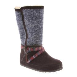 Women's Bearpaw Helena Pull On Boot Indigo Cow Suede